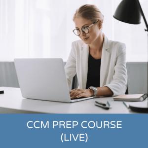 CCM Prep Course Live